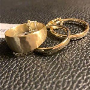 NWT Kendra Scott Terra 3 set rings